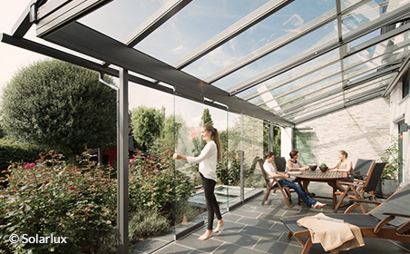 Terrassendächer von Markisen Droste
