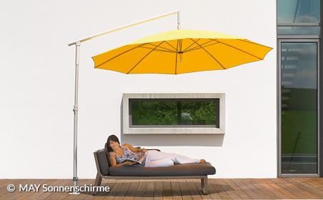 Sonnenschirme von Markisen Droste