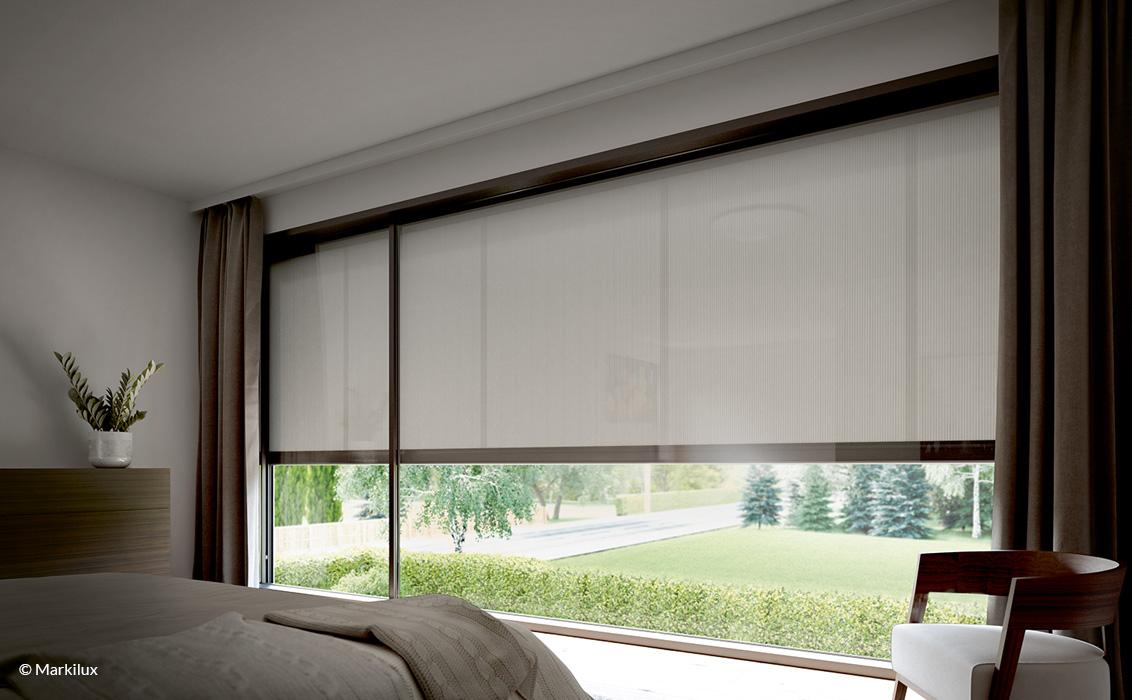 Fenster Markise - markilux - Vertikal-Markise - Innen