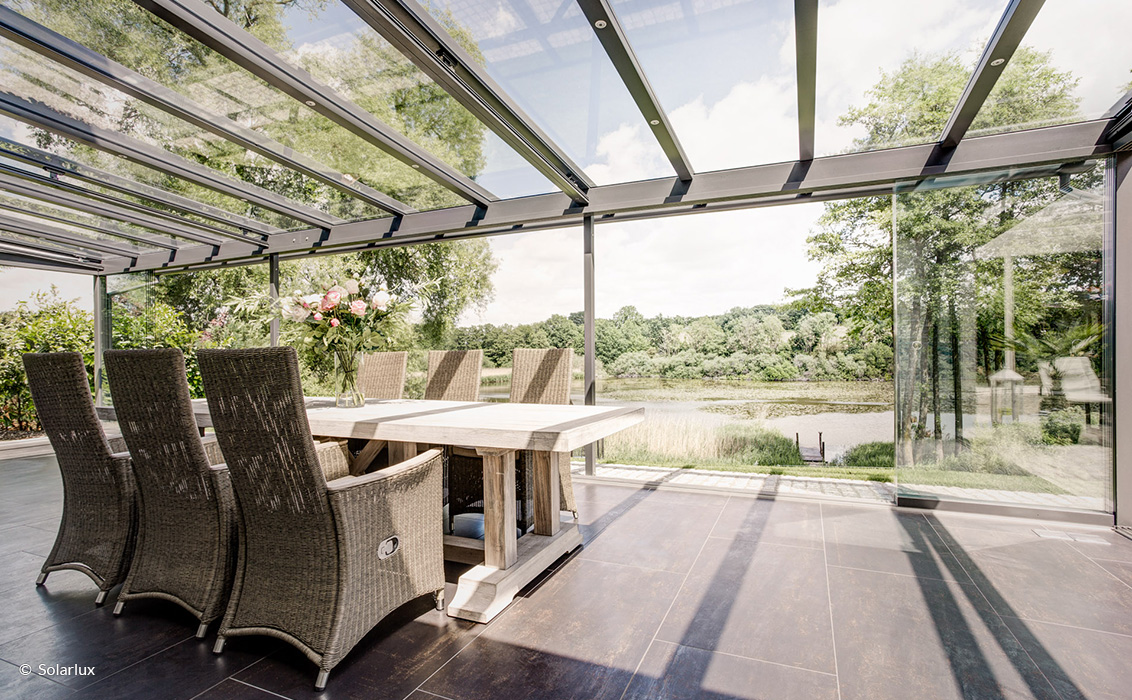 Terrassenüberdachung von Solarlux