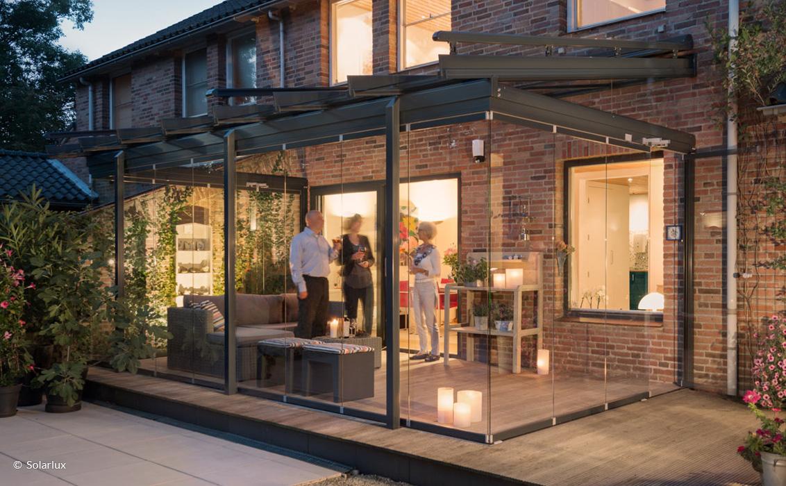 Terrassendächer von Solarlux